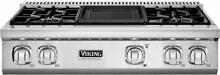 Viking Professional 7 Series 36  VariSimmer Pro Style Gas Rangetop VGRT7364GSS