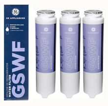 3PACK GE Gswf General Electric Refrigerator Water Filter Cartridge New