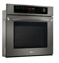 LG EasyClean Built in Self cleaning True Convection Single Electric Wall Oven