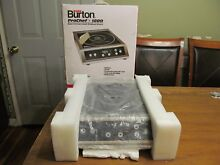 Max Burton Prochef  1800 Stainless Steel Electric Commercial Induction Cooktop