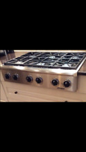 Dacor ESG366 Stainless Steel 36 in  NATURAL GAS Cooktop   Preowned   Pickup Only