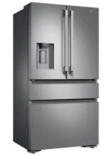 Dacor 4 Door Refrigerator Heritage 36 Inch French Door Counter Depth DRF36C100SR
