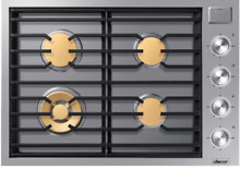 Dacor DTG30M954FS Modernist 30 Inch Gas Cooktop 4 Burners Stainless Steel