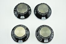 Genuine JENN AIR Built in Oven  Knobs SET of 4   Y703499 703502 703498 703500