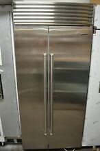 Sub Zero 36  Built In Side By Side Stainless Steel Refrigerator BI36SSPH