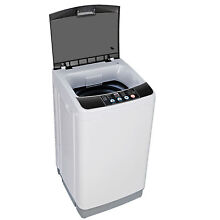 Compact Full Automatic Washing Machine Laundry Washer Spin with Drain Pump