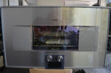 Gaggenau 400 Series 30  Stainless Steel Combi Steam Oven BS484611