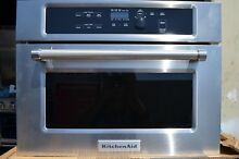 KitchenAid 24  Built In Stainless Steel Microwave Oven KMBS104ESS