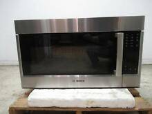 Bosch 800 Series 30  SS White LED Over The Range Convection Microwave HMV8053U
