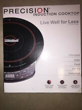 NEW IN BOX PRECISION INDUCTION COOKTOP BY HEARTHWORKS NUWAVE 1300 WATTS