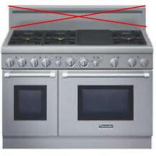 Thermador Pro Harmony 48  6 Pedestal Star Burners Pro Style Gas Range PRL486GDH