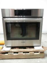 Bosch 800 30  4 6 cu  ft Fast Preheat Single Electric Convection Oven HBL8451UC