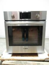 Bosch 500 Series 27  4 1 cu ft  11 modes Single SS Electric Wall Oven HBN5451UC