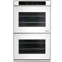 Dacor Distinctive 30 Inch White Double Convection Electric Wall Oven DTO230W