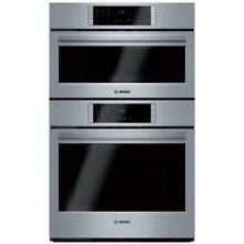 Bosch 800 Series 30  1000W QuietClose SS Speed Combination Oven HBL8752UC EXCLNT