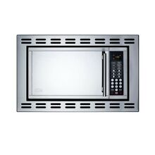 Built In Microwave Stainless Steel Kitchen Cabinet Mount Digital 0 9 cu  ft  New
