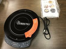 Precision Nuwave PRO 1800 Watt Induction  Cooktop   Black 30352