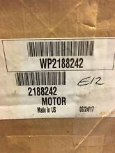 OEM 2188242 Whirlpool Refrigerator Ice Dispenser Motor