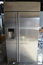 Monogram 42  Built In Side by Side Stainless Steel Refrigerator ZISS420DKSS