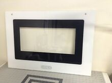 KitchenAid Range Lower Oven Outer Door Glass W10346122
