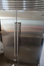 Sub Zero 48  Built In Side by Side Stainless Steel Refrigerator BI48SIDSPH