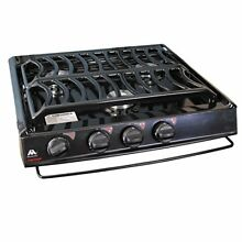 Atwood 52757 CA 35 S Slide In Cooktop with Piezo Ignition  Sealed Burner   Steel