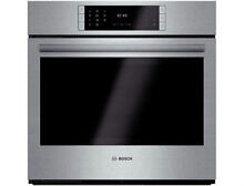 Bosch Benchmark 30  14 Cooking Modes SS Single Electric Wall Oven HBLP451UC
