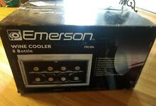 EMERSON 8 Bottle Thermal Wine Cooler Stainless Steel  FR24SL