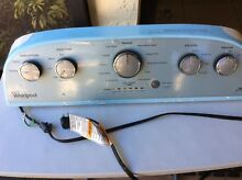 WHIRLPOOL Washing Machine Complete Control Panel Part No W10774117