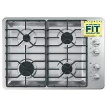 GE JGP3030SLSS 30 in Gas Cooktop Stainless Steel