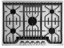Frigidaire FPGC3077RS Professional 5 Burner Gas Cooktop  30  Stainless Steel