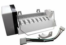 Refrigerator 8 Cube Ice Maker Replacement Kit for Whirlpool Kenmore KitchenAid