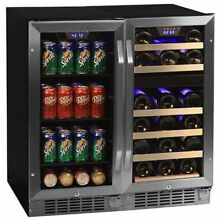 Edgestar CWBV8026 26 Bottle   80 Can Side by Side 30  Wide Wine