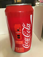 Coca Cola 8 Can Mini Fridge thermoelectric cooler