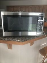Panasonic 1200w Stainless Steel Coutertop Microwave Oven