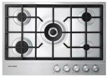 Fisher   Paykel CG305DNGX1 30  Gas Cooktop in Stainless Steel w Wok Burner