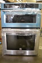 KitchenAid 30  Built In Stainless Steel Microwave Combination Oven KOCE500ESS