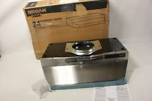 Broan F402404 Two Speed Four Way Convertible Range Hood  24 Inch  Stainless