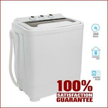 Electric Portable Mini Small Compact Washing Machine Washer Spin Dryer Machin