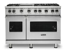 Viking Professional 5 Series 48 Inch Freestanding Gas Range VGR5486GSS