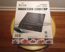 Duxtop Electric Induction Cooktop Burner Plate 9100MC 1800W Portable  Black