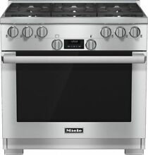 Miele HR1134G 36  Professional 36 Inch Pro Style Gas Range