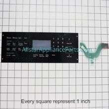 Samsung Oven Microwave Switch Touchpad DG34 00020A