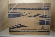 New Whynter 62 Quart Dual Zone Portable Fridge  Freezer FM 62DZ