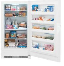 Frigidaire FFFH17F2QW 16 6 cu  ft  Frost Free Upright Freezer in White