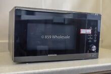 Used Samsung MC11K7035CG 1 1 cu  ft  Countertop Power Convection Microwave Oven