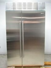 NIB Sub Zero 48 Inch Stainless Built in SS Side by Side Refrigerator BI48SIDSPH