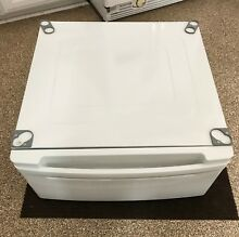 ONE  1  LG WDP3W 27  Washer   Dryer Pedestal Base Stand   White WITH HARDWARE