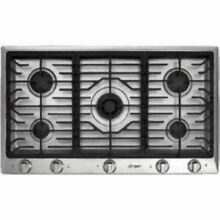 Dacor 36  5 Sealed Smart Flame Burners Gas Stainless Cooktop DCT365SNG