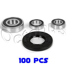 100Pcs Whirlpool Duet Washer Bearing   Seal Kit W10253864 8181666 AP4426951